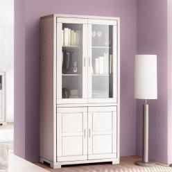 Шкаф с витриной Мэдисон Д 1148 (Диприз)