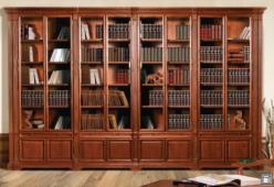 Набор мебели для библиотеки ГМ 5931-12 серия Престиж (ГомельДрев)