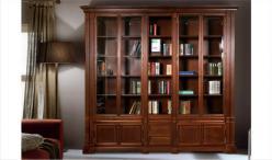 Набор мебели для библиотеки ГМ 5932 серия Престиж береза (ГомельДрев)