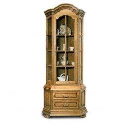 """Шкаф для посуды """"Ноктюрн-22"""" ГМ 5261 белорусская мебель из массива дуба (ГомельДрев)"""