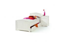 Детская кровать Милано с ящиком выкатным, 90х200 (Sanremi)