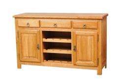 Марсель Комод бар 027 дуб АВП (античный воск с патиной) (Вилейская мебельная фабрика)