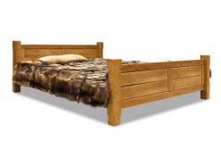 Марсель Кровать  033 дуб (160х200) АВП (античный воск с патиной) (Вилейская мебельная фабрика)