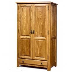 Марсель Шкаф для одежды  045 дуб АВП (античный воск с патиной) (Вилейская мебельная фабрика)