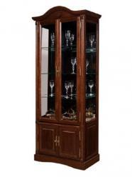 Шкаф-витрина Рубин, ВМФ-6524-ММ (Вилейская мебельная фабрика)