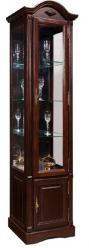 Шкаф витрина Рубин, ВМФ-6525-01-ММ (петли слева) (Вилейская мебельная фабрика)