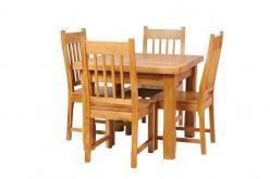 Стол обеденный Марсель 011.2 дуб АВП (античный воск с патиной) (Вилейская мебельная фабрика)