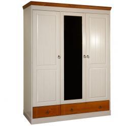 Шкаф Дания 3-створчатый №1 (Вудсток)