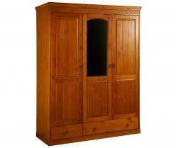 Шкаф Дания 3-створчатый №2 (Вудсток)