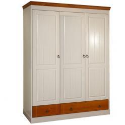Шкаф Дания 3-створчатый №3 (Вудсток)