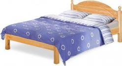 """Кровать """"Лотос"""" с/загл. без ножной спинки Б-1090-21 (БобруйскМебель)"""