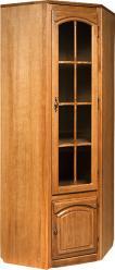 """Угловой шкаф - витрина от библиотеки """"Элбург"""" БМ-1773  (БобруйскМебель)"""