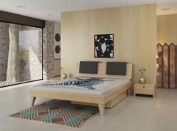 Кровать Letta Eton-Arce (из массива бука) (Letta (Enran))