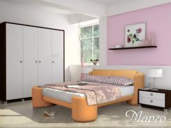 Кровать Марго (ВМК Шале)