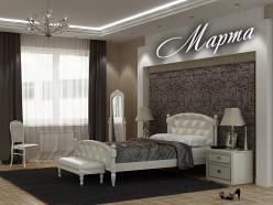 Кровать Марта (ВМК Шале)