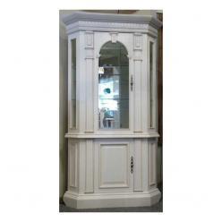 Шкаф-витрина 9м угловая белая береза  (Минскпроектмебель)