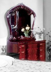 Комод и Зеркало для спальни Ольга (Диа)