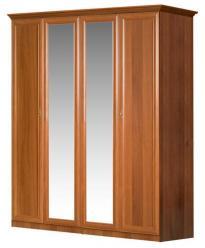 """Европа-7 Классика"" Шкаф 4-х дверный сзеркалами 071/151 (Ярцево)"