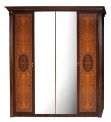 """Карина-2 Шкаф 4-х дверный с зеркалами К2Ш1/4 (Ярцево)"
