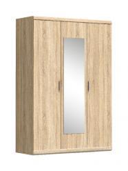 Дюна Шкаф 3D c зеркалом (Анрэкс)