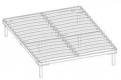Ортопедическое основание 160*200 см (разборное) к кровати Афродите 05 (Арника)