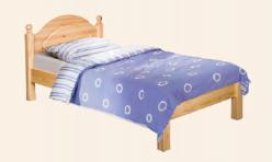 """Кровать """"Лотос"""" с/загл. без изножья, сп. 0,9*2,0 БМ-1089-08 (БобруйскМебель)"""