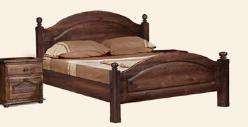 """Кровать """"Лотос"""" с/загл. б/ножн. сп. 1,6*2,0 БМ-1090-21 (БобруйскМебель)"""