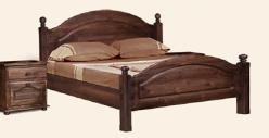 """Кровать """"Лотос"""" с/загл. с изножьем Б-1090-11 (БобруйскМебель)"""