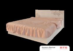 Кровать на 160 с настилом, без матраса «Винтаж» (БТС)