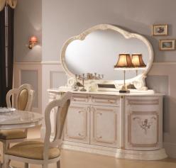 Комод с зеркалом для гостиной Роза (Диа)