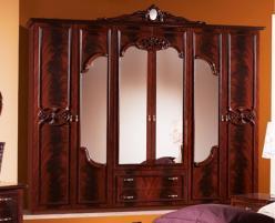 Шкаф 6-ти дверный для спальни Ольга (Диа)