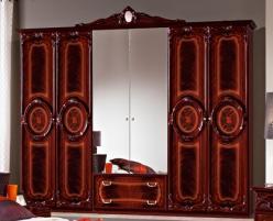 Шкаф 6-ти дверный для спальни Роза (Диа)