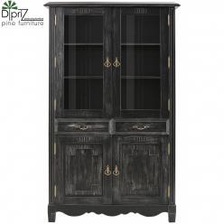 Шкаф с витриной Эден Д 7268-3 (Диприз)