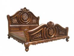 Кровать h170 L226 w200см (Этно Галерея)