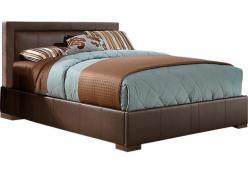 Кровать коричневая h114 L226 w206см (Этно Галерея)