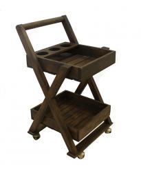 Сервировочный столик на колесиках (Этно Галерея)