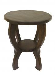 Столик круглый большой h61см d50см (Этно Галерея)