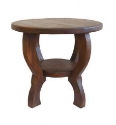 Столик круглый маленький h44 d50см (Этно Галерея)