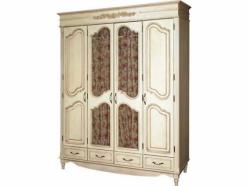 «Фиерта 2» Шкаф для платья и белья (4х дверный) (Фандок)