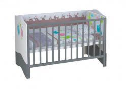 Кроватка - трансформер детская Polini Basic Монстрики (Воткинская ПК)