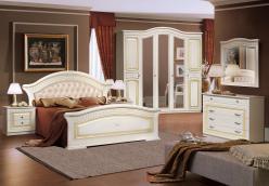 """Комплект мебели """"Любава 5"""" (жемчуг) (Форест Деко Групп)"""