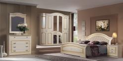 """Комплект мебели """"Любава 6"""" (жемчуг) (Форест Деко Групп)"""