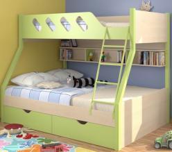 Двухъярусная кровать Дельта 20.02 (Формула мебели)