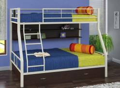 Двухъярусная кровать Гранада-1/ПЯ (Формула мебели)