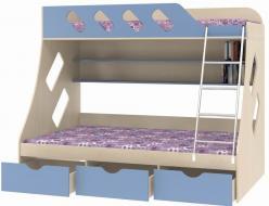 Кровать двухъярусная Дельта-20.01 (Формула мебели)