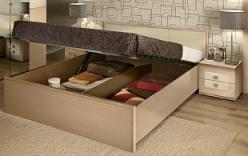 АМЕЛИ 1 Кровать (1800)  + основание с подъемным механизмом  (Глазов-мебель)