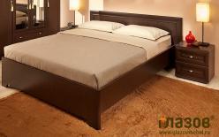 Анкона 3. Кровать 140 х 200 см + Основание (дерево) (Глазов-мебель)