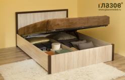 Bauhaus 3.2 (спальня) Кровать с подъемным механизмом (1400) (Глазов-мебель)