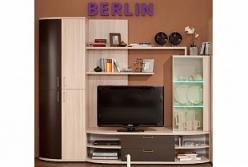 Берлин 1 Шкаф МЦН Фасад Венге (Глазов-мебель)