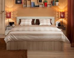 BERLIN33 Кровать (1400), без основания (Глазов-мебель)